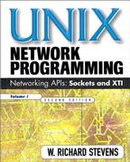 Cover of UNIX Network Programming, Volume 1: Networking APIs - Sockets and XTI