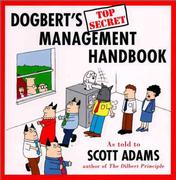 Cover of Dogbert's top secret management handbook