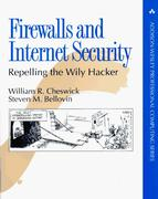 Cover of Firewalls and Internet Security : Repelling the Wily Hacker