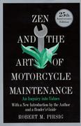 Cover of Zen and the Art of Motorcycle Maintenance : An Inquiry into Values