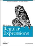 Cover of Mastering Regular Expressions