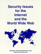 Cover of Security Issues for the Internet and the World Wide Web