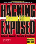 Cover of Hacking Exposed: Network Security Secrets and Solutions