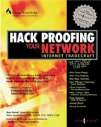 Cover of Hack Proofing Your Network: Internet Tradecraft