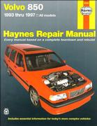 Cover of Haynes Volvo 850 Automotive Repair Manual : All Volvo 850 Models 1993 Thru 1997