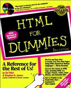 Cover of HTML For Dummies®