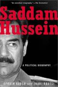 Cover of Saddam Hussein: A Political Biography