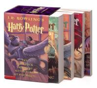 Cover of Harry Potter Paperback Boxed Set (Books 1-4)