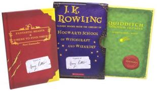Cover of Harry Potter Schoolbooks Box Set: Two Classic Books from the Library of Hogwarts School of Witchcraft and Wizardry