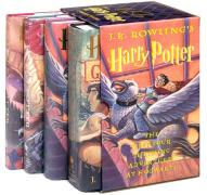 Cover of Harry Potter Hardcover Box Set (Books 1-4)