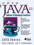 Cover of Core Java 1.1 Volume II Advanced Features