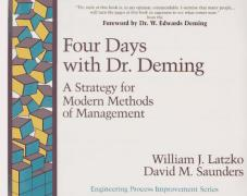 Cover of Four Days with Dr. Deming : A Strategy for Modern Methods of Management