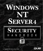 Cover of Windows Nt Server 4 Security Handbook