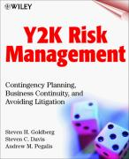 Cover of Y2K Risk Management: Contingency Planning, Business Continuity, and Avoiding Litigation