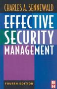 Cover of Effective Security Management, Fourth Edition (Effective Security Management)