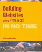 Cover of Building Web Sites Using HTML and CSS in No Time (In No Time)