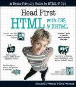 Cover of Head First HTML with CSS & XHTML (Head First)