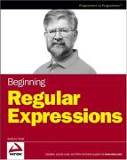 Cover of Beginning Regular Expressions (Programmer to Programmer)