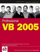 Cover of Professional VB 2005 (Programmer to Programmer)