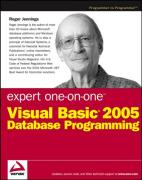 Cover of Expert One-on-One Visual Basic 2005 Database Programming (Expert One-On-One)